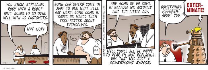 Comic Strip Darrin Bell  Rudy Park 2017-02-16 worker