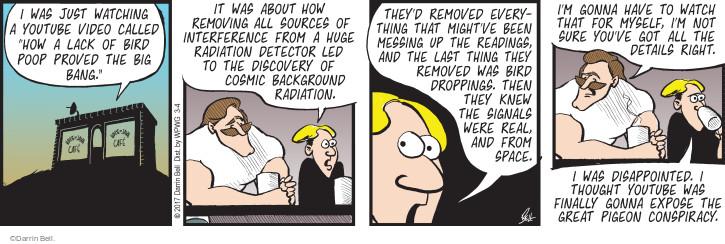 Comic Strip Darrin Bell  Rudy Park 2017-03-04 conspiracy