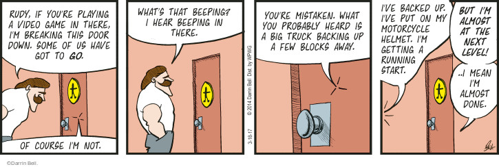 Comic Strip Darrin Bell  Rudy Park 2017-03-18 truck