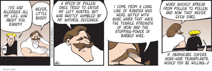Comic Strip Darrin Bell  Rudy Park 2017-04-04 reputation
