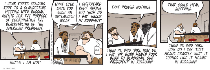 Comic Strip Darrin Bell  Rudy Park 2017-05-17 Russia