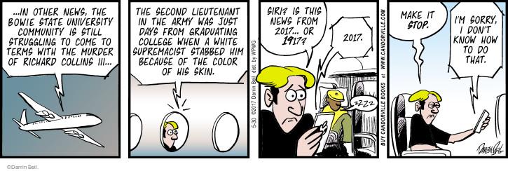 Comic Strip Darrin Bell  Rudy Park 2017-05-30 crime