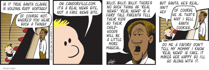 Comic Strip Darrin Bell  Rudy Park 2017-06-19 hostage