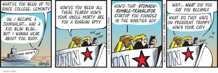Comic Strip Darrin Bell  Rudy Park 2017-06-24 Russia