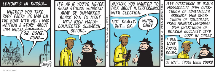 Comic Strip Darrin Bell  Rudy Park 2017-06-29 election journalism
