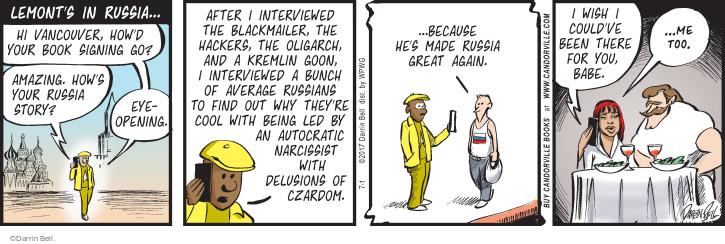 Comic Strip Darrin Bell  Rudy Park 2017-07-01 cool