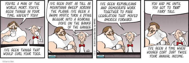 Comic Strip Darrin Bell  Rudy Park 2017-07-03 republican democrat
