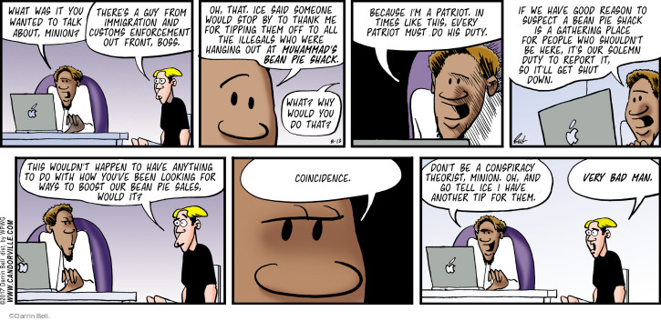Comic Strip Darrin Bell  Rudy Park 2017-08-13 report