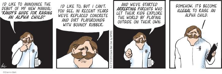 Cartoonist Darrin Bell  Rudy Park 2017-08-02 parent