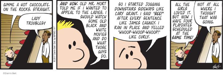 Comic Strip Darrin Bell  Rudy Park 2017-09-07 rock