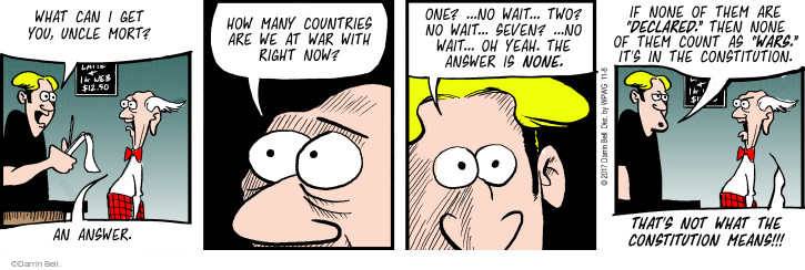 Comic Strip Darrin Bell  Rudy Park 2017-11-08 means