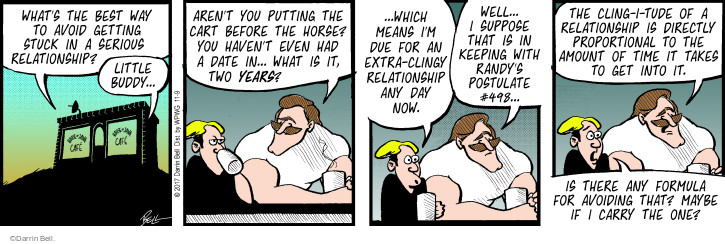 Comic Strip Darrin Bell  Rudy Park 2017-11-09 means