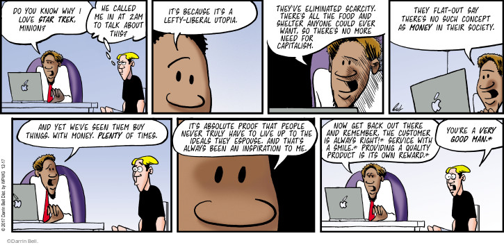 Comic Strip Darrin Bell  Rudy Park 2017-12-17 remember