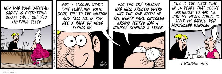 Cartoonist Darrin Bell  Rudy Park 2017-12-13 sky