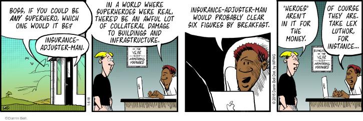 Cartoonist Darrin Bell  Rudy Park 2018-01-06 insurance