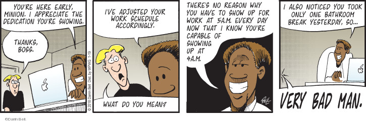 Comic Strip Darrin Bell  Rudy Park 2018-01-19 notice