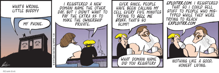 Comic Strip Darrin Bell  Rudy Park 2018-01-29 internet