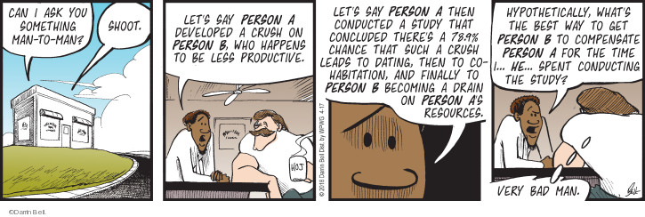Comic Strip Darrin Bell  Rudy Park 2018-04-17 productive