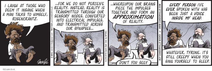 Comic Strip Darrin Bell  Rudy Park 2018-06-02 perception reality