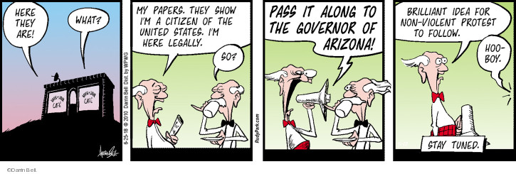 Cartoonist Darrin Bell  Rudy Park 2018-06-25 idea
