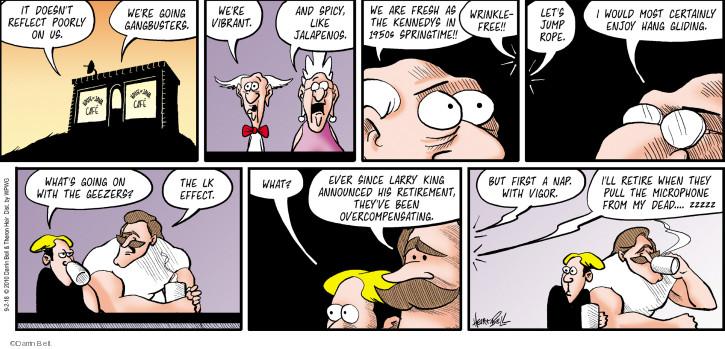 Comic Strip Darrin Bell  Rudy Park 2018-09-02 retirement