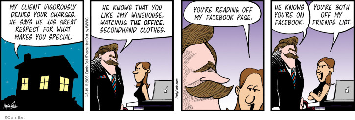 Comic Strip Darrin Bell  Rudy Park 2019-03-06 social media