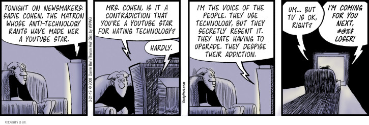 Comic Strip Darrin Bell  Rudy Park 2019-03-21 YouTube