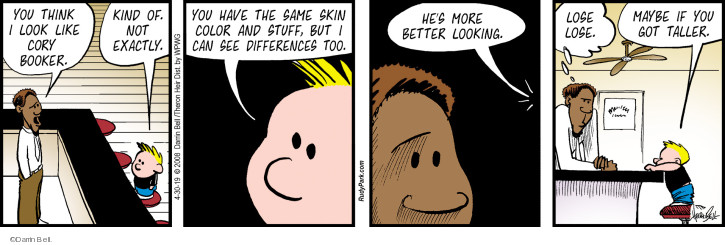 Comic Strip Darrin Bell  Rudy Park 2019-04-30 appearance