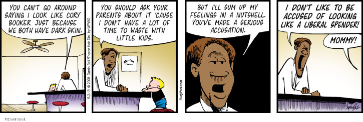 Comic Strip Darrin Bell  Rudy Park 2019-05-02 parent