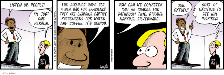 Comic Strip Darrin Bell  Rudy Park 2019-05-07 charge