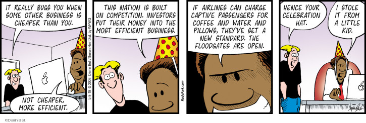 Comic Strip Darrin Bell  Rudy Park 2019-05-09 airline