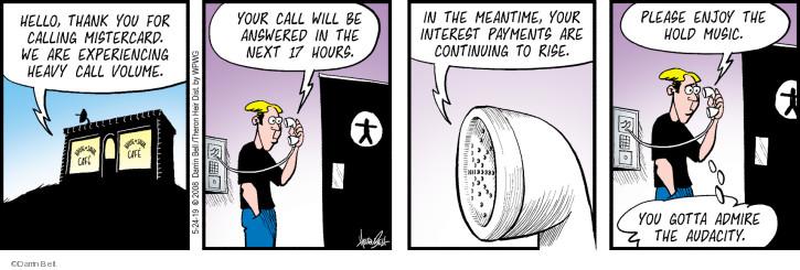 Cartoonist Darrin Bell  Rudy Park 2019-05-24 admire
