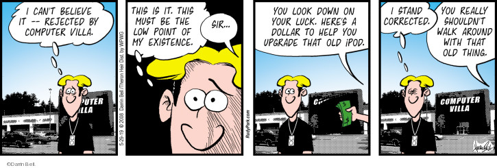 Comic Strip Darrin Bell  Rudy Park 2019-05-29 point