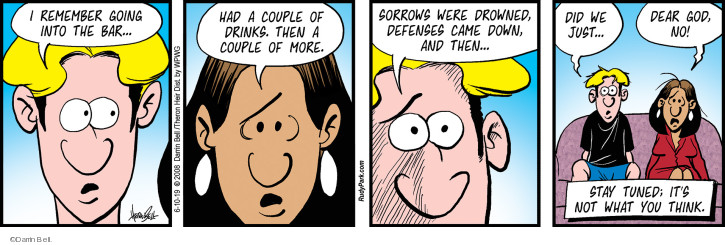 Comic Strip Darrin Bell  Rudy Park 2019-06-10 remember