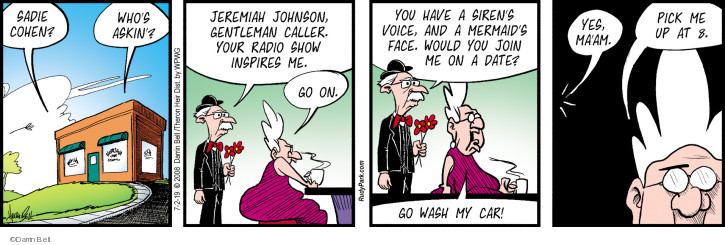 Comic Strip Darrin Bell  Rudy Park 2019-07-02 Radio Program
