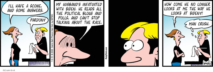 Comic Strip Darrin Bell  Rudy Park 2019-07-06 order