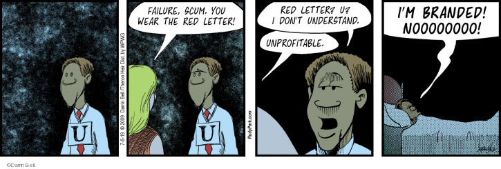 Comic Strip Darrin Bell  Rudy Park 2019-07-08 letter