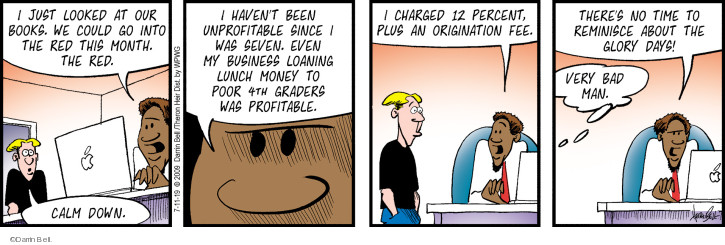 Comic Strip Darrin Bell  Rudy Park 2019-07-11 money