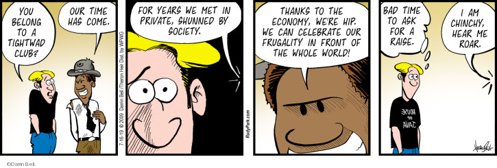 Comic Strip Darrin Bell  Rudy Park 2019-07-16 employee employer