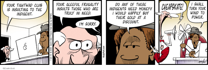 Comic Strip Darrin Bell  Rudy Park 2019-07-20 money