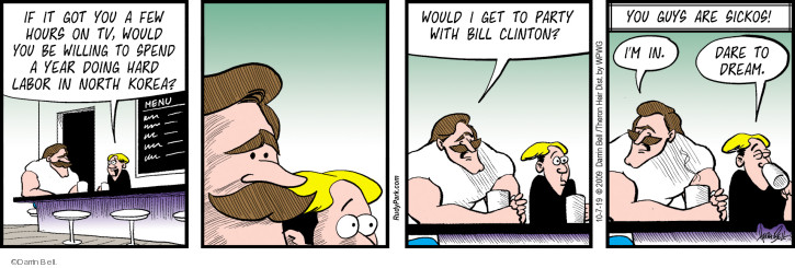 Comic Strip Darrin Bell  Rudy Park 2019-10-07 dare