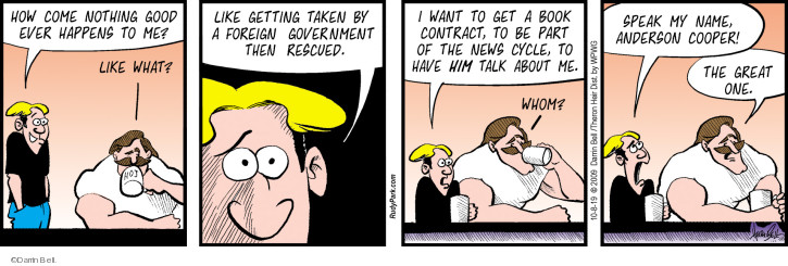 Comic Strip Darrin Bell  Rudy Park 2019-10-08 journalism