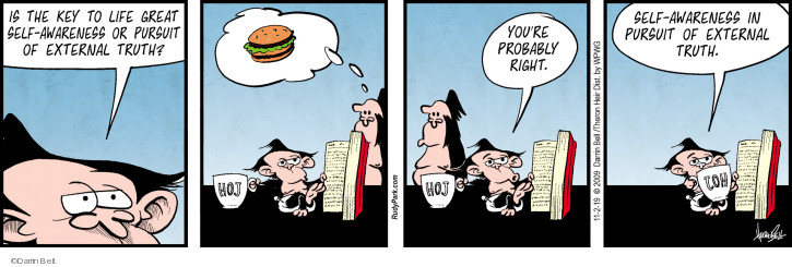 Comic Strip Darrin Bell  Rudy Park 2019-11-02 food