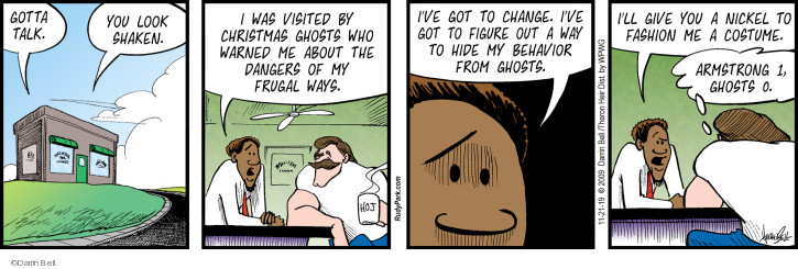 Comic Strip Darrin Bell  Rudy Park 2019-11-21 behavior