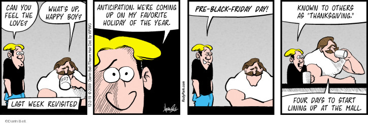 Comic Strip Darrin Bell  Rudy Park 2019-12-02 black