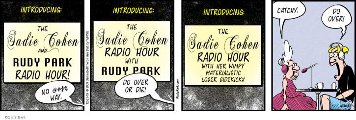 Cartoonist Darrin Bell  Rudy Park 2019-12-23 show