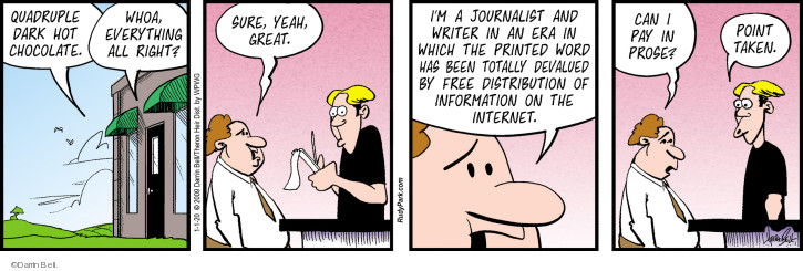Comic Strip Darrin Bell  Rudy Park 2020-01-01 journalism