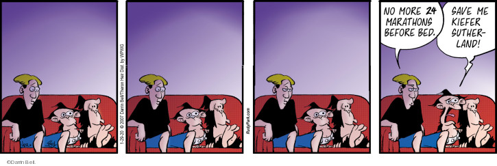 Cartoonist Darrin Bell  Rudy Park 2020-01-29 save