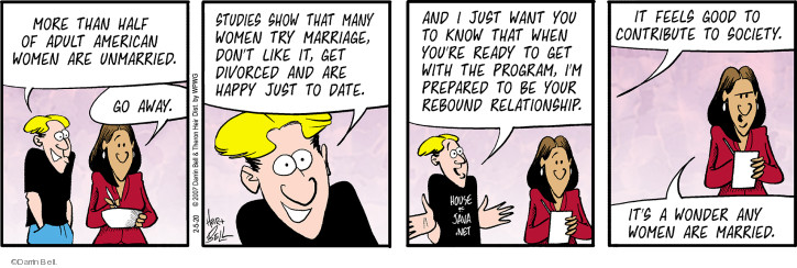 Comic Strip Darrin Bell  Rudy Park 2020-02-05 don't