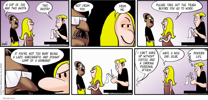 Comic Strip Darrin Bell  Rudy Park 2020-03-01 day
